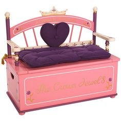 Always A Princess Toy Box Bench, for later days...
