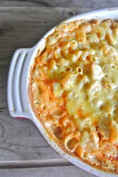 buffalo chicken mac and cheese | The Barbee Housewife.
