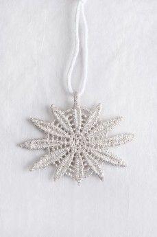 SNOW FLAKE by MyKi pendant, silver Подвеска SNOW FLAKE by MyKi, серебро