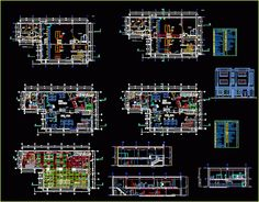Engineering et Architecture Commercial Architecture, Architecture Plan, Plan Autocad, Autocad 2015, Commercial Sink, Cad Library, Fire Alarm System, Kitchen Sink Design, Architectural House Plans