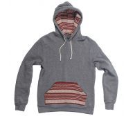 pocket hoodie made even better with some undeniable Krochet Kids intl. We've added knit finishes to the front pocket as well as the hood interior t . Grey Hoodie, Sweater Hoodie, Kids Cuts, Fair Trade Fashion, African Fabric, Fashion Outfits, Womens Fashion, Pocket, Hoodies