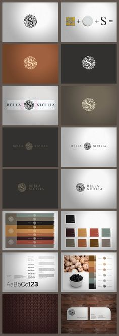 Bella Sicilia/// Company was founded in 1997 and concentrated its attention on outsourcing production and export of high quality siclian food. All products are characterized by the absence of chemical additives and are the result of a selection of excellent quality raw materials prepared with age old farmhouse recipes that reflect Sicilian's cooking traditions and gastronomic heritage. #branding #identity #logo #graphic #design #print #brand