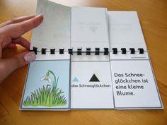 Ideenreise: Klappbuch zur Frühlingszeit