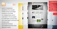 Review QuickM - Template for Joomla 1.5This site is will advise you where to buy