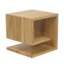 Zeitungsständer Holz jan kurtz 499820 beistelltisch holz braun 42 x 42 x 42 cm