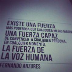 Excelente Frase de Fernando Anzures