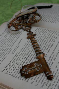 really neat old key