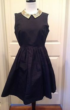 NWT Kate Spade Little Black Silk Dress Size 8 Sold Out! $548. Gorgeous. For sale on ebay under camps21.