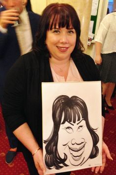The wedding caricaturist brought laughter to Manchester