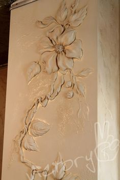 Одноклассники Plaster Crafts, Plaster Art, Sculpture Painting, Wall Sculptures, Ceiling Design, Wall Design, Art Decor, Decoration, Ceramic Wall Art