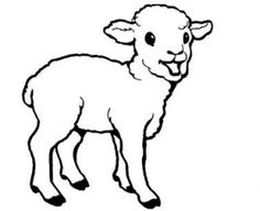 Image result for flock of sheep colouring pages Colouring