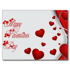 happy Valentines Day Post Card