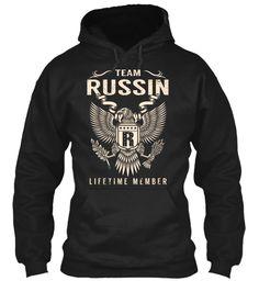 Team RUSSIN Lifetime Member #Russin