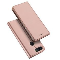 Housse OnePlus 5T Business imitation cuir - Or rose