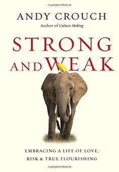 Strong and Weak: Embracing a Life of Love, Risk and True Flourishing by Andy Crouch http://www.amazon.com/dp/0830844430/ref=cm_sw_r_pi_dp_JgV2wb0CG6JFR