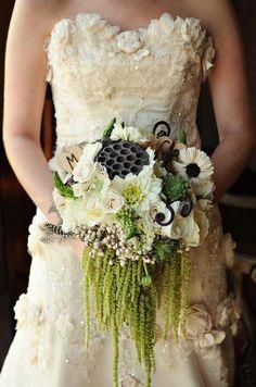 Wedding bouquet, lovely for a bayou wedding