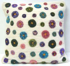 Peru Hand Embroider Pillow
