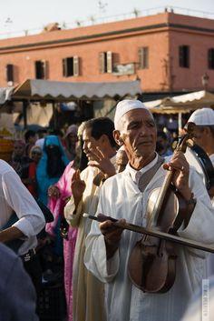 Djemaa El Fna Performer, Marrakech by Ine Beerten