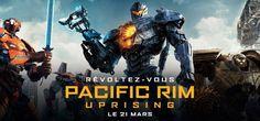 Pacific Rim 2 Uprising film de Steven S. DeKnight. Jake Pentecost, fils de Stacker Pentecost, rejoint Mako Mori pour diriger une nouvelle génération de pilotes Jaeger, dont son rival Lambert et la hackeuse Amara, 15 ans, contre une nouvelle menace de Kaiju. #PacificRimUprising