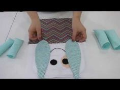 Artesanato - Naninha para bebê - YouTube