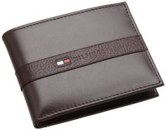 Tommy Hilfiger Mens Ranger Passcase, Brown, One Size #tommyhilfigerwallet #tommyhilfigerrangerpasscase