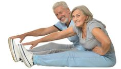 Looking for motivation to get on—and stay on—a regular exercise plan? Start simple by making a routine out of these sample senior citizen exercises. Do Exercise, Regular Exercise, Bone Diseases, Easy Stretches, Body Tissues, Senior Fitness, Flexibility Workout, Healthy Aging, Gym Workouts