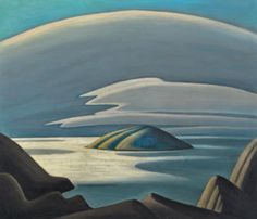 Canadian Modern Art - Lake Superior Island - Lawren Harris - Group of Seven Group Of Seven Artists, Group Of Seven Paintings, Emily Carr, Canadian Painters, Canadian Artists, Landscape Art, Landscape Paintings, Tom Thomson Paintings, Mountain Sketch