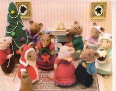 dickens mouse crochet pattern - Google zoeken