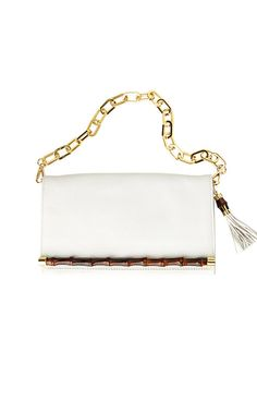 cc0bbd9f11 Mangrove Leather Clutch - Lilly Pulitzer White Lilly