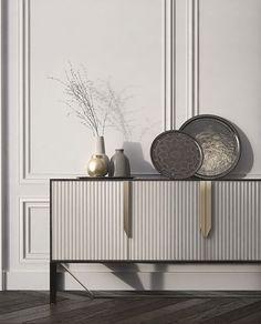 Limited Edition Sideboard Designs by Boca do Lobo Diy Furniture, Modern Furniture, Furniture Design, Furniture Inspiration, Interior Design Inspiration, Sideboard Decor, Indian Interiors, 3d Wall Panels, Home Room Design