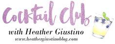 Heather Giustino Blog: Cocktail Club: The Hammerhead