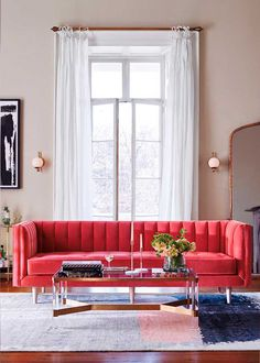12 best red sectional images living room red sofa red couches rh pinterest com