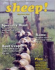 Sheep! Magazine  May/June, 2004 issue of sheep! Magazine. The Voice of the Independent Flockmaster