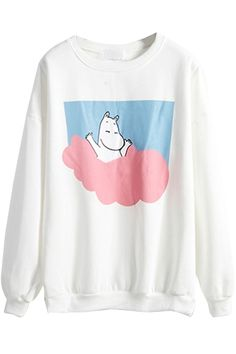 Moomin Sweatshirt - https://wp.me/p6qjkV-5OS  #Art