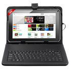 """10.1"""" Inch Android 4.4 A33 Quad Core Dual Camera Tablet PC W/ Keyboard Case Xmas"""