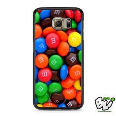 M m Chocolate Samsung Galaxy S7 Case