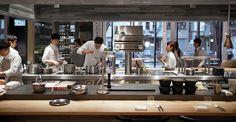 Pirouette 虎ノ門 Restaurant Kitchen Design, Classic Restaurant, Kitchen Design Open, Restaurant Concept, Open Concept Kitchen, Cafe Restaurant, Commercial Kitchen Design, Commercial Kitchen Equipment, Home Design Floor Plans