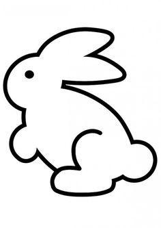 Tavşan Boyama Sayfası Sınıf Pinterest Bunny Coloring Pages Ve