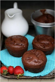 Double Chocolate Dessert Popovers