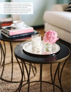 Simple Side Table Decor