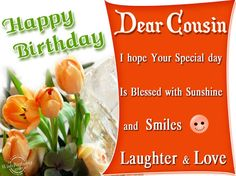 Birthday Wishes Male Cousin ~ Birthday wishes cousin images birthday wishes for cousin