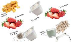 Emagreça até 3 kg em 2 semanas com os potinhos de aveia | MdeMulher Healthy Snaks, Hypothyroidism Diet, Overnight Oats, Fitness Diet, Blog, Brunch, Food And Drink, Low Carb, Healthy Recipes