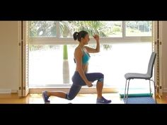 Glute challenge #3: 10 minute workout for a tighter, rounder, firmer booty - YouTube