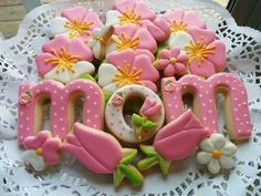 Mother's day cookie set by Manny's Cookies