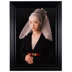 Ode to Van der Weyden's Portrait of a Lady Edition 4 of 7 | From a unique collection of antique and modern photography at https://www.1stdibs.com/furniture/wall-decorations/photography/