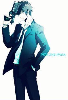 #Anime #Psycho-Pass Kogami.