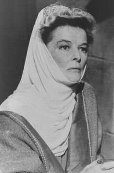 Katharine Hepburn 1968 for her role as Eleanor of Aquitaine in The Lion In Winter (1968).