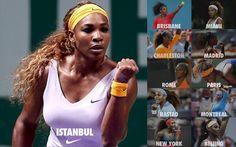 2013 WTA CHAMPIONSHIP - ISTANBUL CHAMPION: SERENA WILLIAMS WINS TITLE #11!  ------ pic VIA  Quentin ♣. @WTA_Tennisfan Serena WILLIAMS' 2013 YEAR IN ONE PHOTO pic.twitter.com/3IaofadoGm --- SO BEAUTIFUL! #TEAMSERENA <3 #RenasArmy