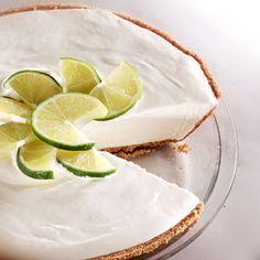 Pie helado de Limón