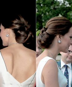 Charlotte Elizabeth Diana — duchesscambridges:The Duchess of Cambridge's Updos...
